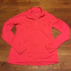 Athleta LA Running half zip jacket
